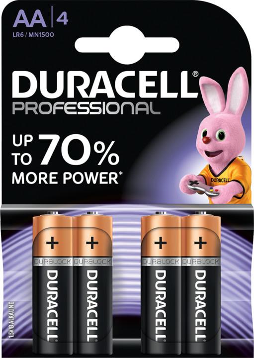 Duracell Professional AA 1500, 4ks