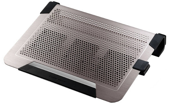 "CoolerMaster NotePal U3 PLUS, pro 15-19"", titanium"