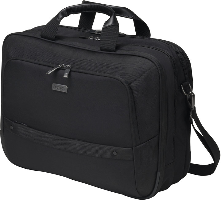 "DICOTA Top Traveller ECO Twin SELECT - brašna na notebook - 14"" - 15.6"" - černá"