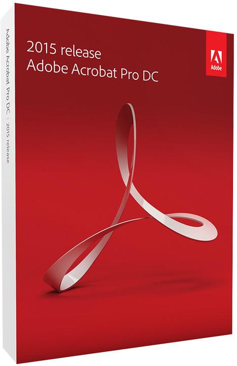 Adobe Acrobat Pro DC (12) ENG WIN upgrade z verzí 10 a 11