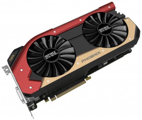Gainward GeForce GTX 1070Ti Phoenix GS, 8GB GDDR5