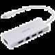 ASUS hub OS200, USB-C - 2xUSB-A 3.0, HDMI, VGA, RJ-45, bílá