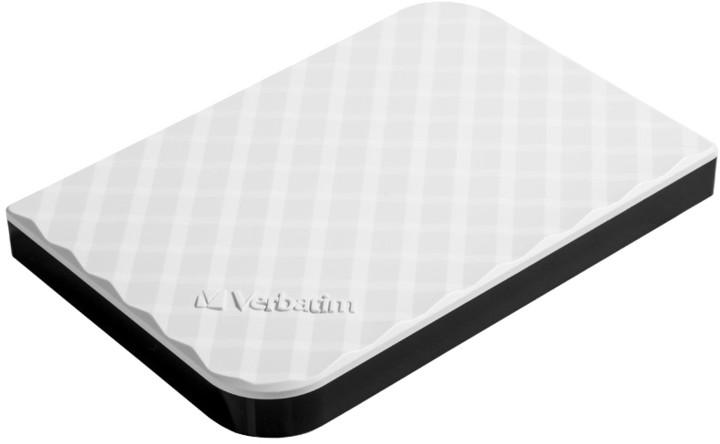 Verbatim Store'n'Go, USB 3.0 - 1TB, bílá