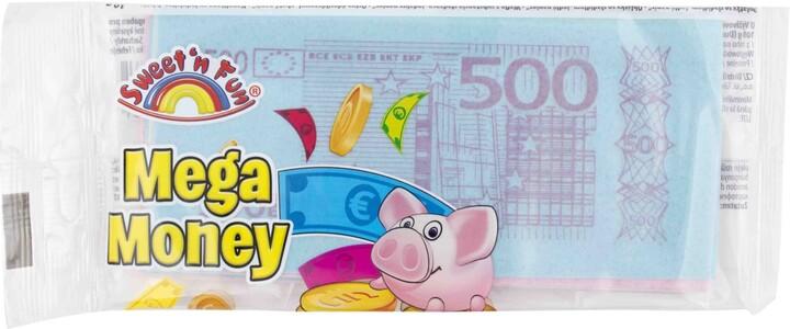 Mega Money - bankovky v sáčku, jedlý papír, 10g