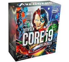 Intel Core i9-10850K, Marvel's Avengers Collector's Edition O2 TV Sport Pack na 3 měsíce (max. 1x na objednávku)
