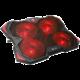 """C-TECH Chladící podložka Zefyros (GCP-01R), casual gaming, 17,3"""", červené podsvícení"""