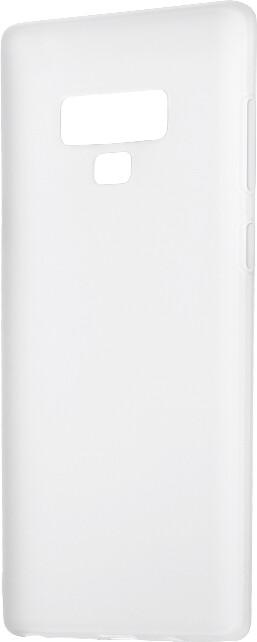 Epico Pružný plastový kryt pro Samsung Galaxy Note 9 SILK MATT, bílý transparentní