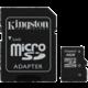 Kingston Micro SDHC 4GB Class 4 + SD adaptér