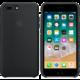 Apple silikonový kryt na iPhone 8 Plus / 7 Plus, černá