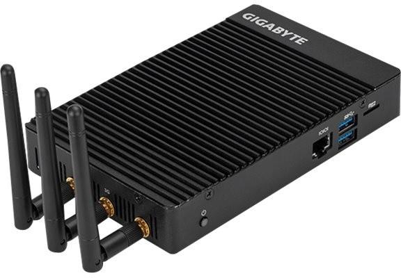 GIGABYTE BRIX IoT GB-EACE-3450, černá