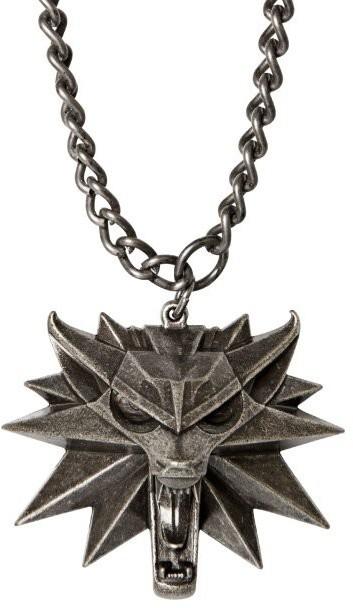 Medailon na krk The Witcher - Vlk