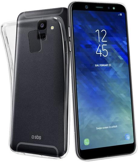 SBS Skinny pouzdro pro Samsung Galaxy A6, transparentní