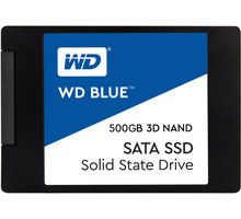 "WD SSD Blue 3D NAND, 2,5"" - 500GB"