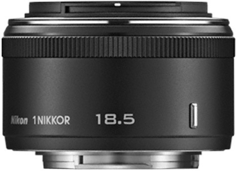 Nikkor 18,5mm f1.8 Black