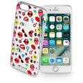 CellularLine STYLE průhledné gelové pouzdro pro Apple iPhone 7, motiv POP