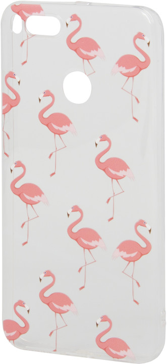EPICO pružný plastový kryt pro Xiaomi Mi A1 PINK FLAMINGO