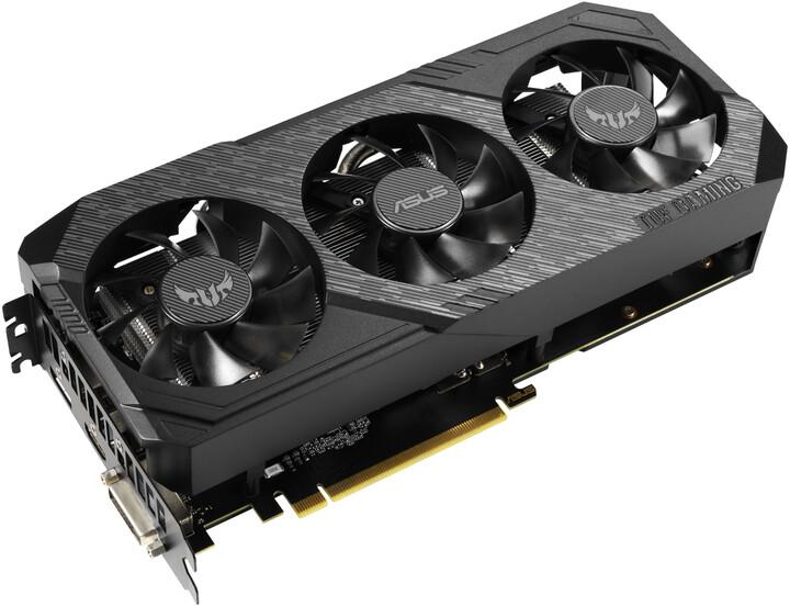 ASUS GeForce TUF 3-GTX1660-A6G-GAMING, 6GB GDDR5