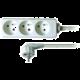 Prodlužovací kabel 230V 2m - 3x zásuvka, bílý