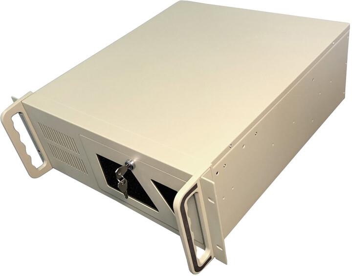 "DATACOM 19"" IPC, skříň do racku, 485mm, 4U, šedá"