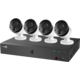 iGET HOMEGUARD HGDVK84404, venkovní, 4x FHD1080p, dálkové ovládání