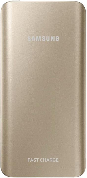 Samsung powerbanka s podporou rychlonabíjení (5.2 A) EB-PN920U, zlatá