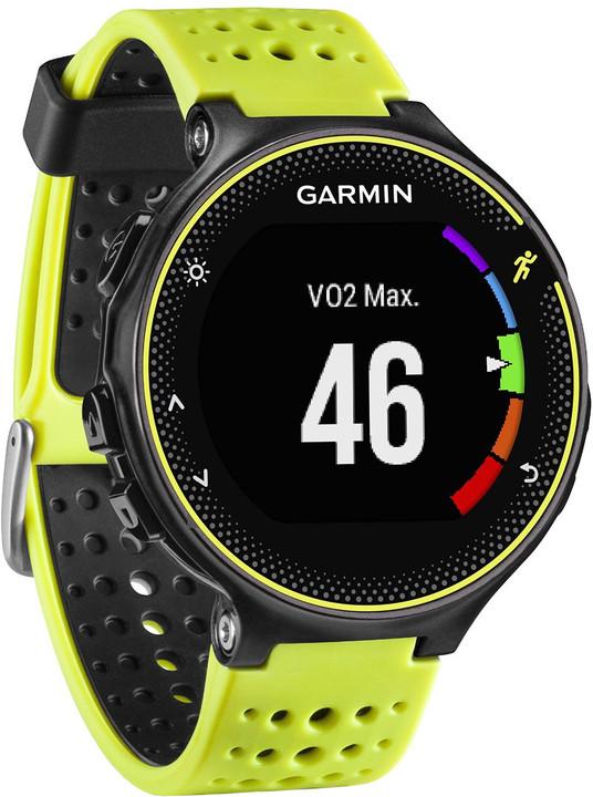 Garmin Forerunner 230, žlutá