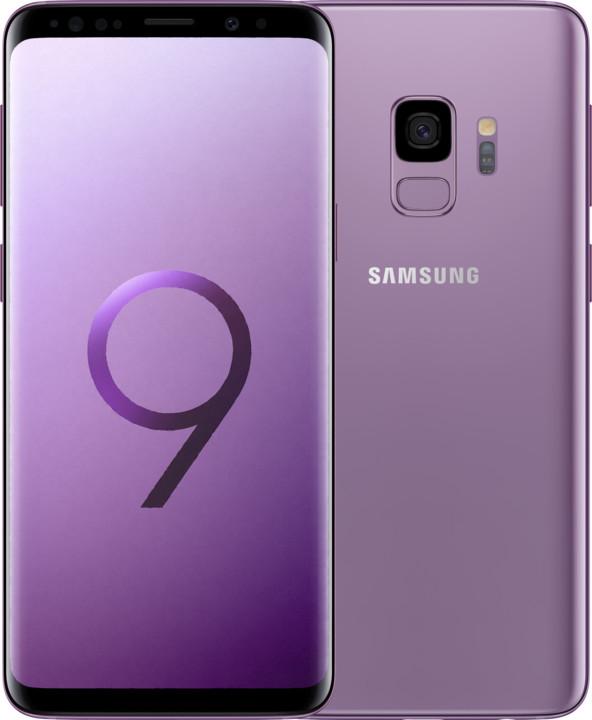 Samsung Galaxy S9, 4GB/64GB, Dual SIM, fialová