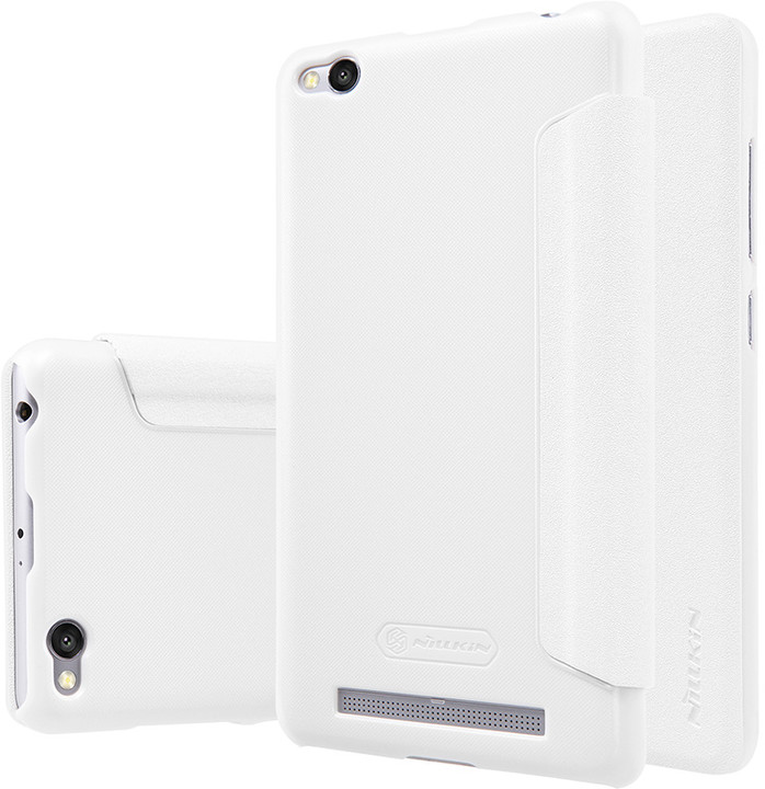 Nillkin Sparkle Leather Case pro Xiaomi Redmi 3/3S, bílá