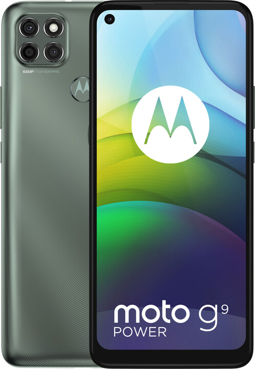 Motorola Moto G9 Power, 4GB/128GB, Metallic Sage