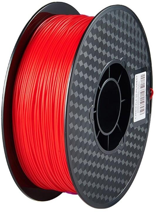 Creality tisková struna (filament), CR-PLA, 1,75mm, 1kg, fluorescenční červená