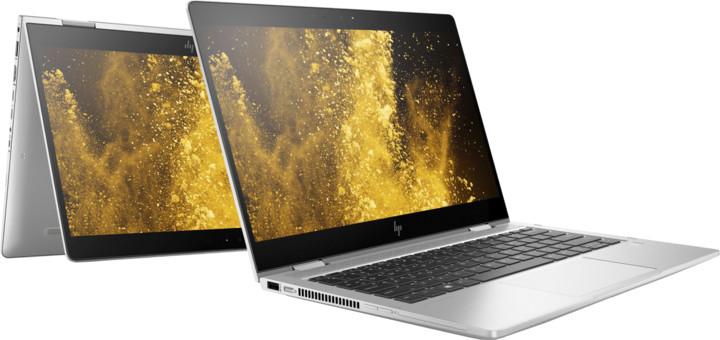 HP EliteBook x360 830 G6, stříbrná