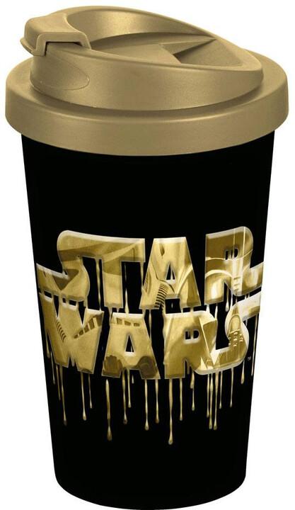 Hrnek Star Wars - Logo, cestovní, 400 ml