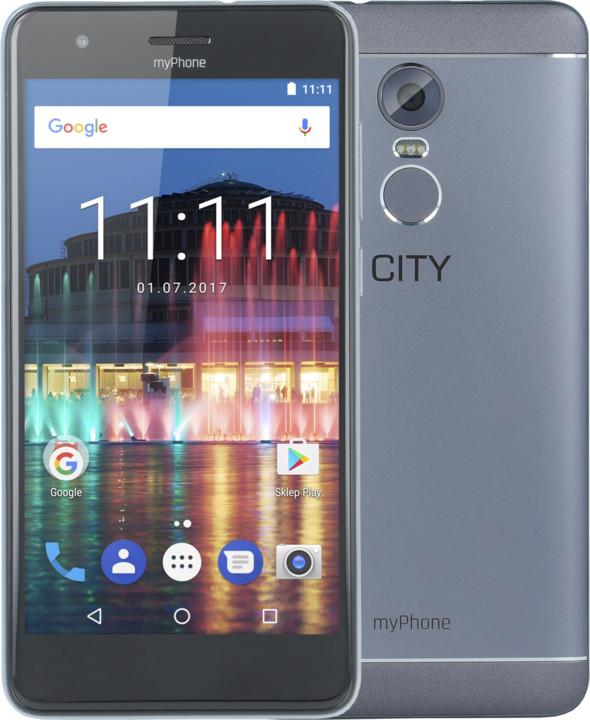myPhone City, šedá
