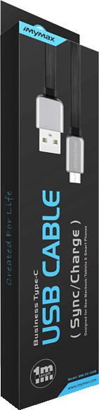 iMyMax Business Type-C USB Cable, černá