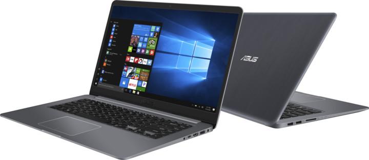 ASUS VivoBook S15 S510UQ, šedá