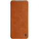 Nillkin pouzdro Qin Book Pouzdro pro Xiaomi Mi Note 10 Lite, hnědá