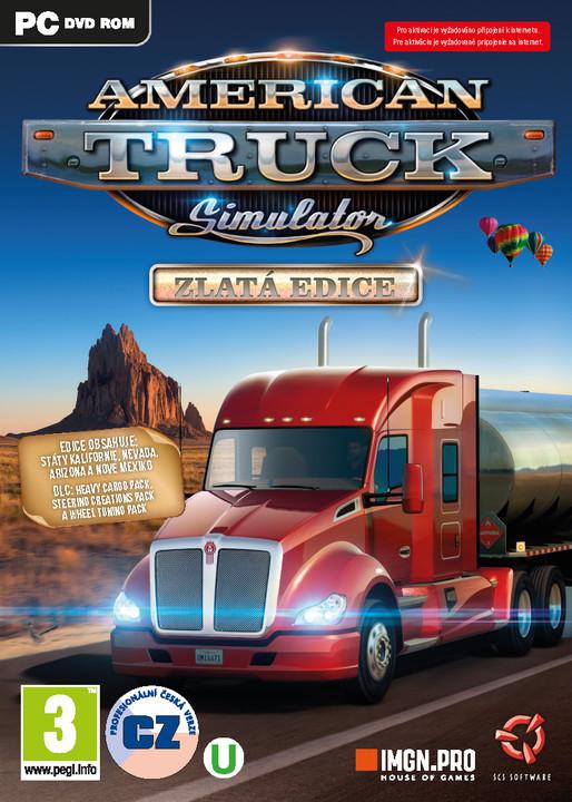 American Truck Simulator - Zlatá edice (PC)