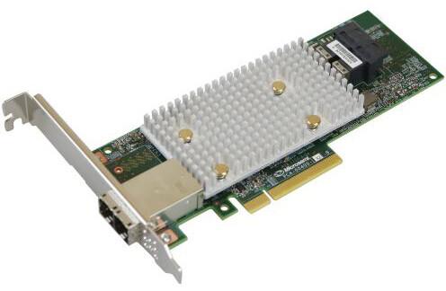 Microsemi Adaptec řadič HBA 1100-8i8e Single, 12Gbps SAS/SATA, 8 portů int., 8 portů ext.