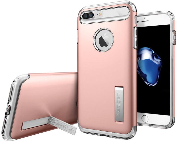 Spigen Slim Armor pro iPhone 7 Plus/8 Plus rose gold