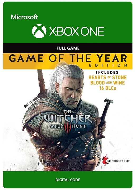 Zaklínač 3: Wild Hunt - Game of the Year (Xbox ONE) - elektronicky