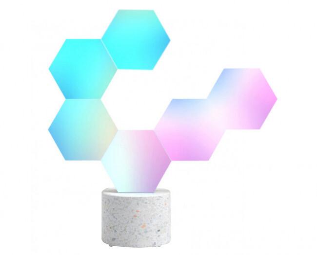 Cololight Modulární chytré Wi-Fi osvětlení – kamenná základna se 6 bloky