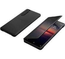 Sony pouzdro Style Cover View pro Xperia 1 II, černá - XQZCVATB.ROW
