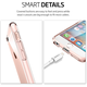 Spigen Ultra Hybrid ochranný kryt pro iPhone 6/6s, rose crystal