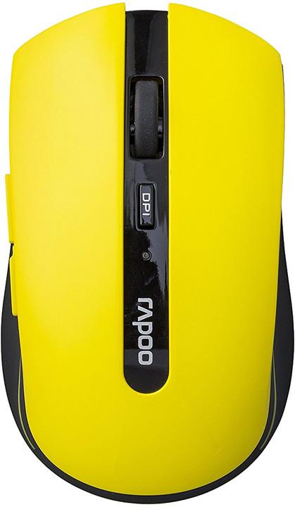 Rapoo 7200p, žlutá