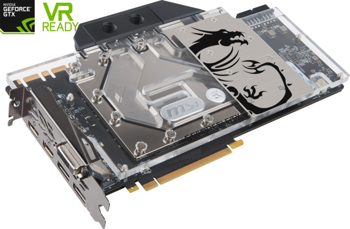 MSI GeForce GTX 1080 Ti SEA HAWK EK X, 11GB GDDR5X