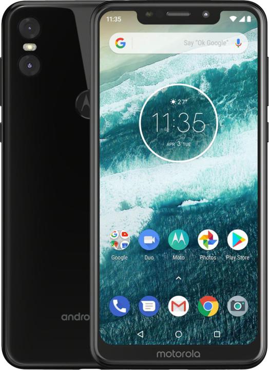Motorola One, 4GB/64GB, Dual SIM, černá