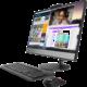 Lenovo V530-24ICB Touch, černá  + Servisní pohotovost – Vylepšený servis PC a NTB ZDARMA + DIGI TV s více než 100 programy na 1 měsíc zdarma