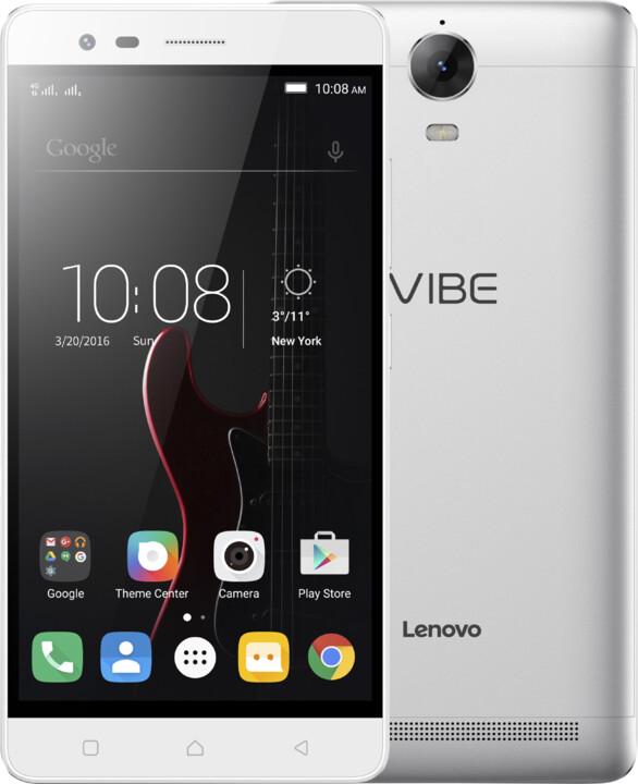 Lenovo K5 Note - 16GB, LTE, stříbrná