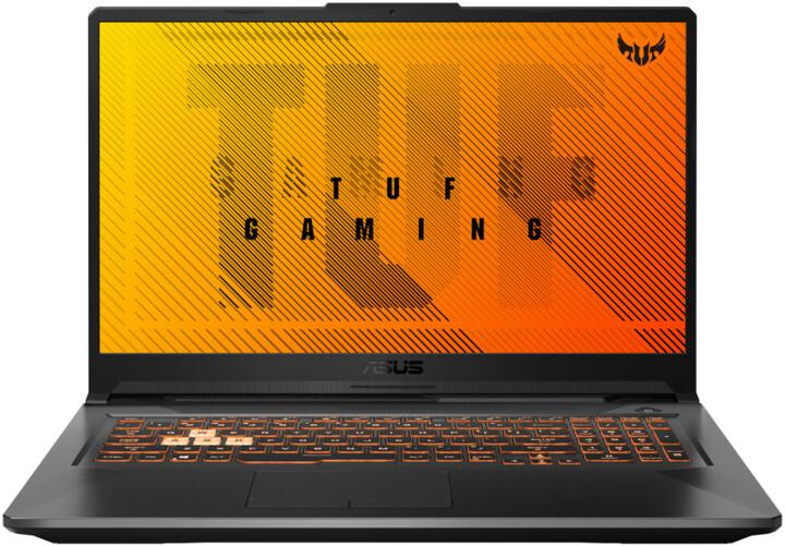 ASUS TUF Gaming F17, černá