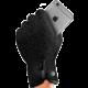 MUJJO Rukavice jednovrstvé dotykové rukavice pro SmartPhone - velikost S - černé